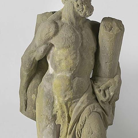 Hercules met de gebroken zuil