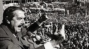 Alfonsin y el regreso a la democracia