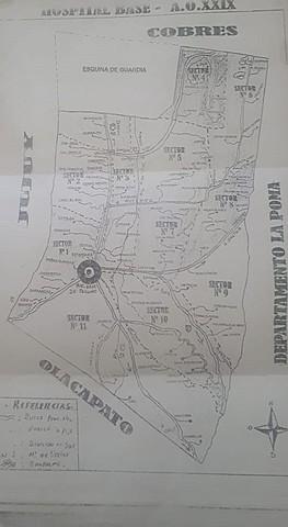 Areas Operativas. Primer Nivel en Capital