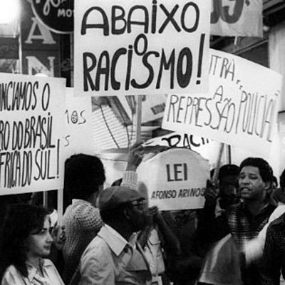 Análise da atuação política do movimento negro organizado no período da república, sob a perspectiva da TBP timeline