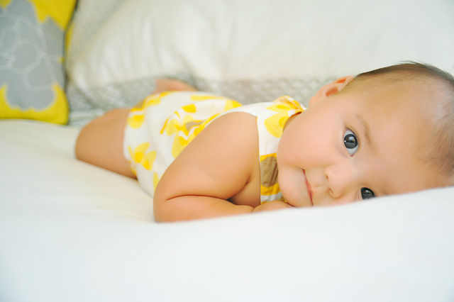 My little sister was born (kelsey)