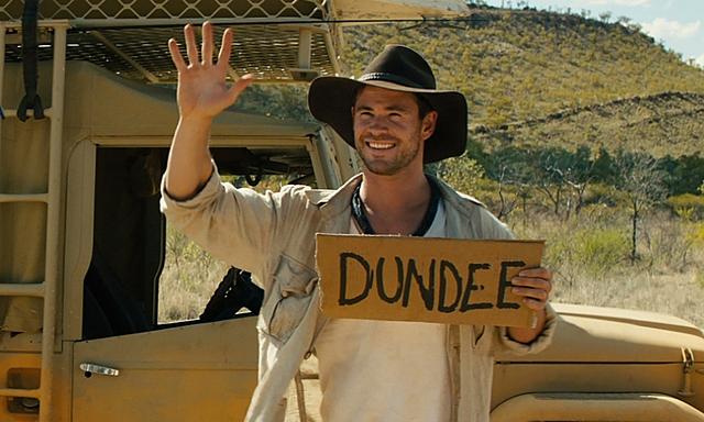 Chris Hemsworth promotes Australia