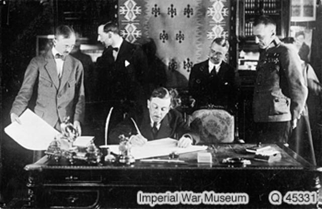 Treaty Signed