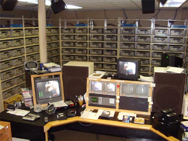 Practical Videotape recording system.