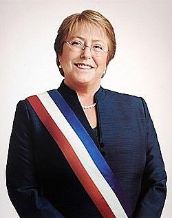 Primer mujer Presidente en Latinoamerica