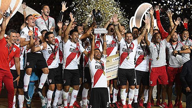 River campeón Supercopa