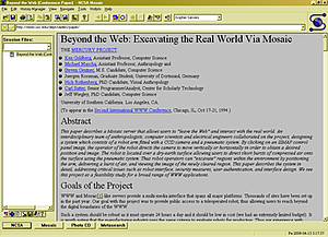 Information Age: Web Browsers : Mosaic (1993)