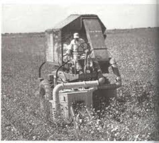 Mechanical Cotton Picker