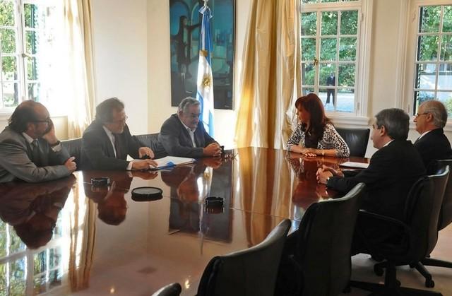Primera reunión Mujica-Fernández