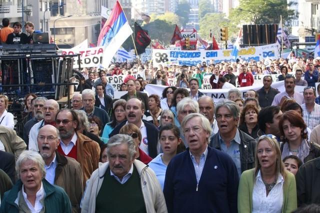 Mujica concurre al acto del 1º de mayo