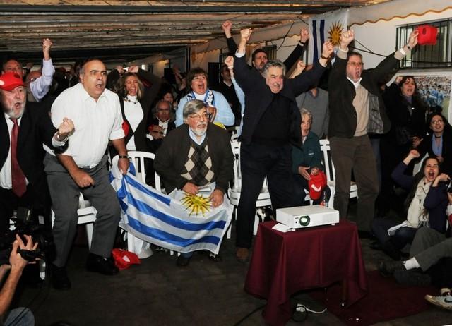 Partido Uruguay- Holanda.