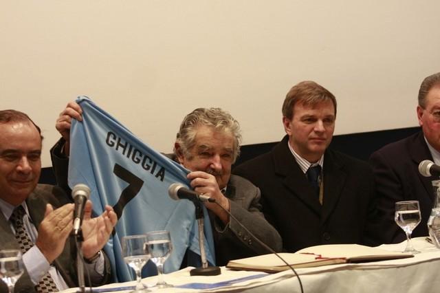 100 años de la camiseta de Uruguay