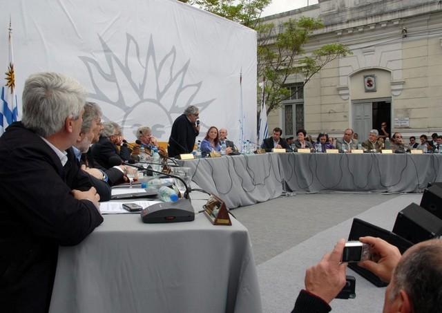 Consejo de Ministros en Rivera.