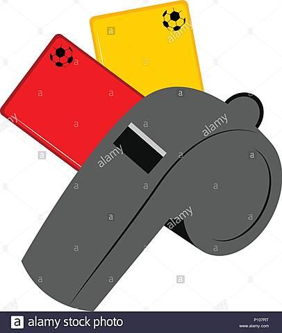 Nacen las tarjetas roja y amarilla