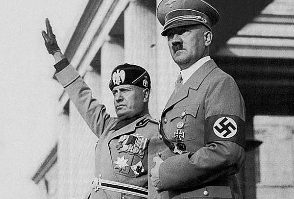 Alemanha nazista e Itália facista