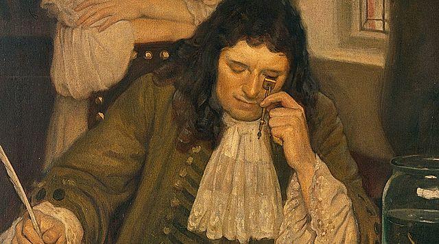 Anton van Leeuwenhoek- Creación del Microscopio