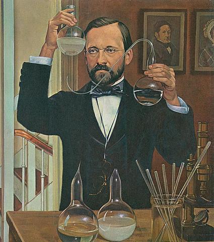 Louis Pasteur pone fin a la Generación Espontánea
