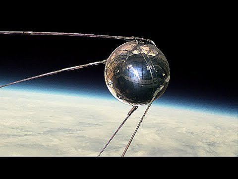 Lanzamiento del primer Sputnik por la Unión Soviética