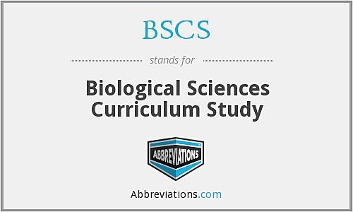 "Se funda el ""Biological Sciences Curriculum Study"", (proyecto BSCS)"