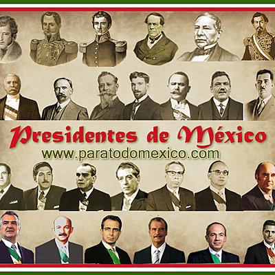 LOS ULTIMOS 10 PRESIDENTES DE MEXICO timeline
