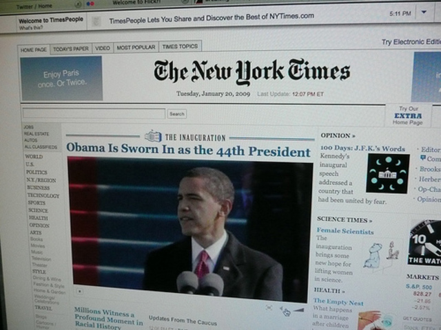 Cese actividad NewYork Times