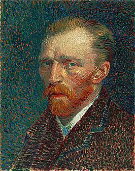 Zelfportet vVincent van Gogh