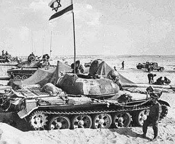 Start of the Yom Kippur War