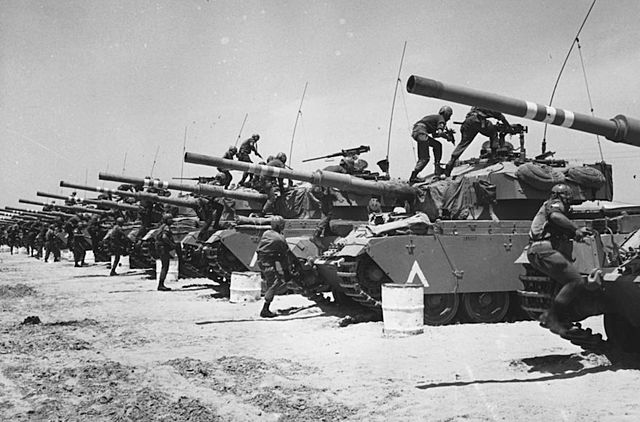 Start of the Six-Day War (Operation Moked)