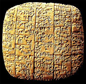 Clay Tablets of Mesopotamia