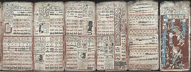 Codex in Mayan region