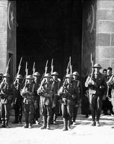 British capture Jerusalem
