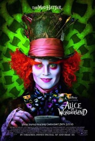 Johnny Depp agrees to play The Mad Hatter