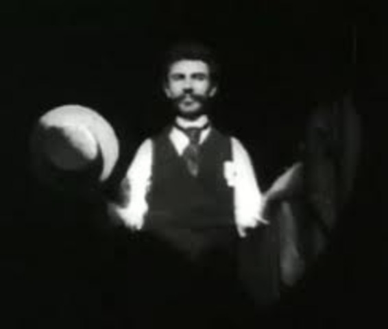 1891-1895 Dickson shoots numerous 15 second motion pictures using Edison's kineograph, his motion picture camera.