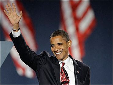 Barak Obama Elected President