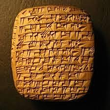 Clay Tablets in Mesopotamia- 2,400 BC