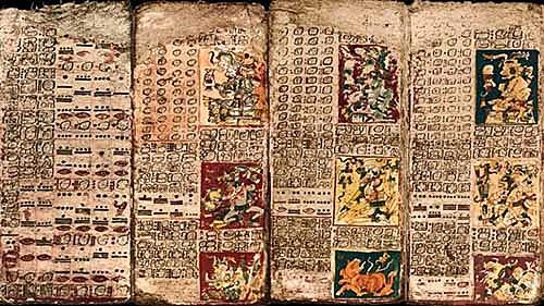 Codex in the Mayan Region- 5th Century