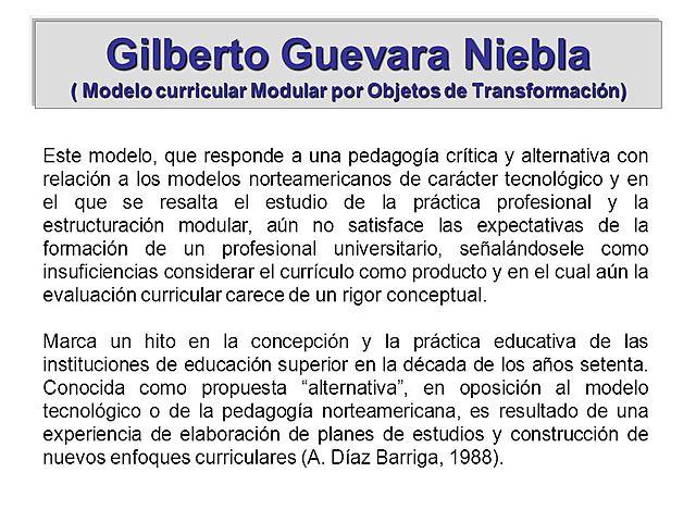 Modelo de Guevara Niebla