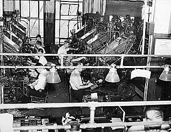 Printing Press for Mass Production