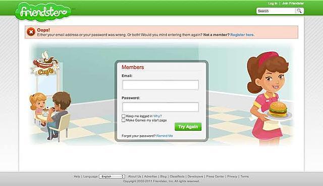 Social Networks: Friendster