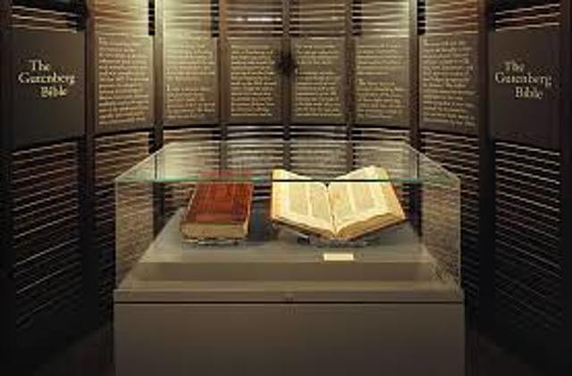 First Printed Bible