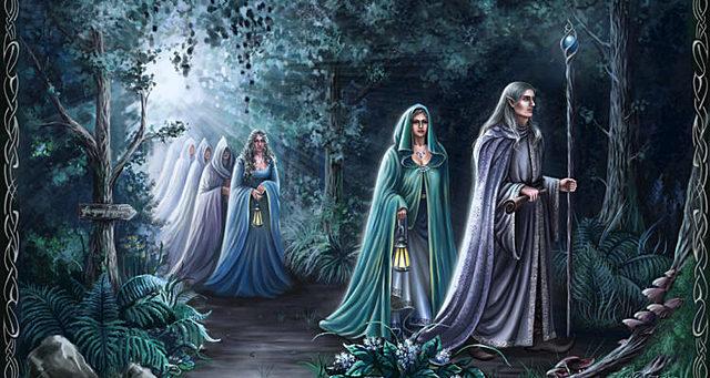 Apparition des Elfes