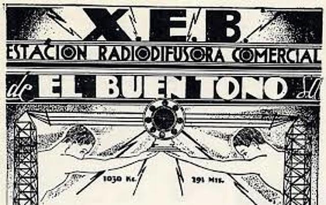 Primera radio difusora en la ciudad de México