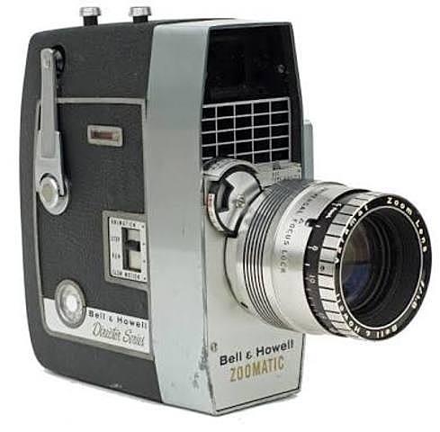 Se crea la primera cámara de vídeo electrónica