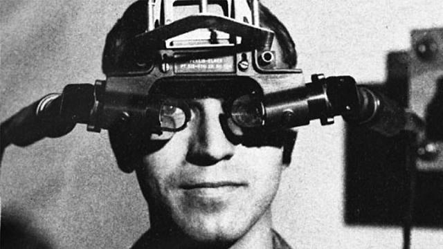 Прообраз первого шлема виртуальной реальности