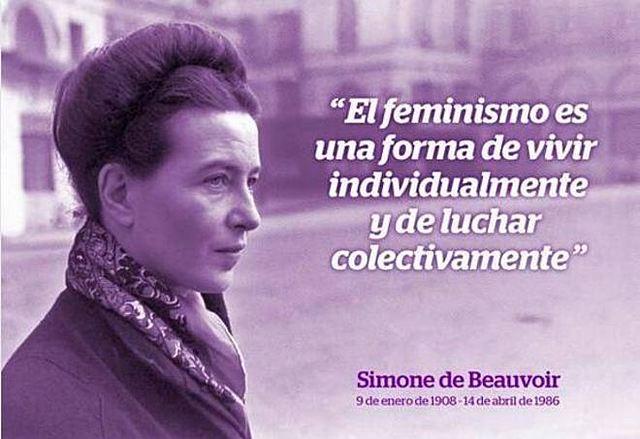Simone Beauvoir