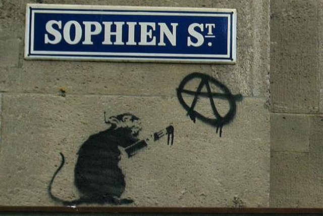 Banksy Rat - Berlin