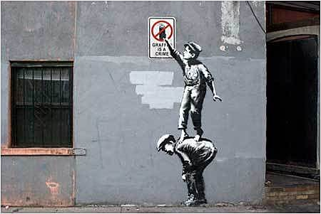 Graffiti is a Crime – New York