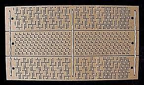 Punch Cards- 1950s
