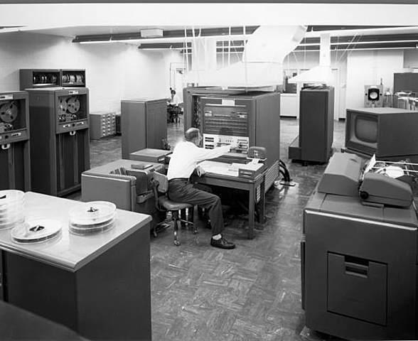 Mainframe Computers (IBM 704)- 1954