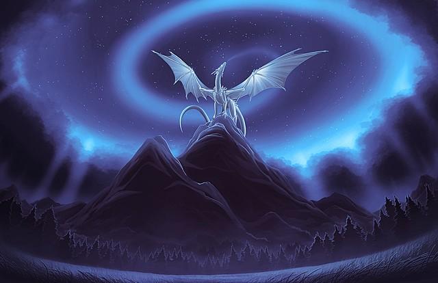 Départ des Dragons